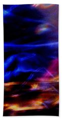 Beach Towel featuring the photograph Electric Chaos by Mike Breau