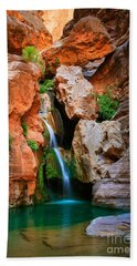 Elves Chasm Beach Towel