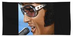 Elvis Beach Towels