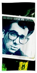 Elvis Costello Beach Towel