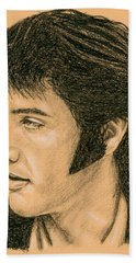 Elvis Las Vegas 69 Beach Towel