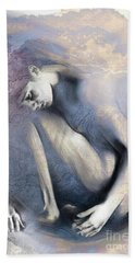 Embryonic II With Mood Texture Beach Towel
