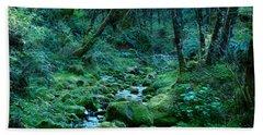 Emerald Forest Beach Towel