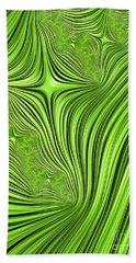 Emerald Scream Beach Towel
