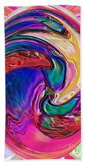 Emergence - Digital Art Beach Towel by Robyn King
