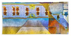 Empty Stage Beach Towel by RC deWinter
