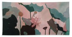 Enchanted Garden Beach Towel