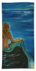 Enchanted Mermaid Beauty Beach Towel