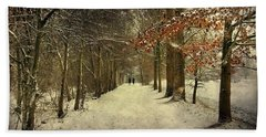 Enchanting Dutch Winter Landscape Beach Towel