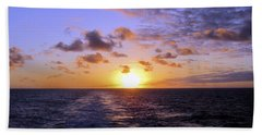 Hawaiian End Of Day Beach Towel