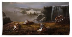 Beach Towel featuring the photograph Endangered by Melinda Hughes-Berland