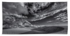 Endless Black And White Beach Towel