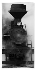 Beach Towel featuring the photograph Engine No. 6 by Jerry Fornarotto