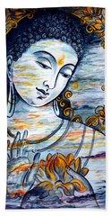 Enlightened  Beach Towel by Harsh Malik