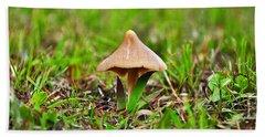 Entoloma Mushroom Beach Towel
