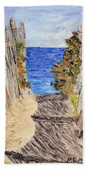 Entrance To Summer Beach Towel