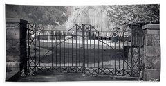 Entry To Salem Willows Beach Towel