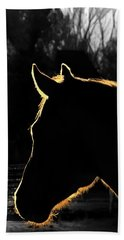 Equine Glow Beach Towel