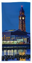 Erie Lackawanna Terminal Hoboken Beach Towel