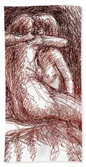 Erotic Drawings 19-2 Beach Sheet