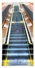 Escalator To Heaven Beach Towel