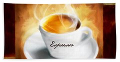 Espresso Lover Beach Towel