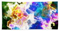Essence - Abstract Art Beach Towel by Jaison Cianelli