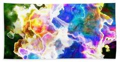 Essence - Abstract Art Beach Towel