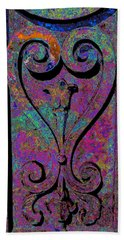 Etched Love Beach Towel
