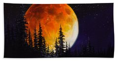 Ettenmoors Moon Beach Towel