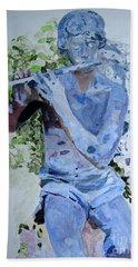 Etude Beach Towel by Sandy McIntire