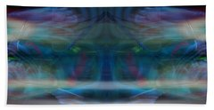 Beach Sheet featuring the digital art Evanesce by Joel Loftus