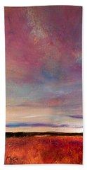 Evening Colours Beach Sheet
