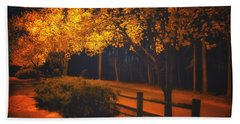 Evening Glow Beach Towel