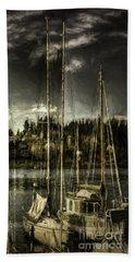 Beach Sheet featuring the photograph Evening Mood by Jean OKeeffe Macro Abundance Art