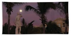 Evening Moon Beach Towel