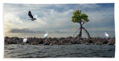 Beach Sheet featuring the photograph Everglade Scene by Dan Friend