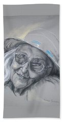 Everybodys Grandma Beach Towel