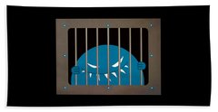 Evil Monster Kingpin Jailed Beach Towel