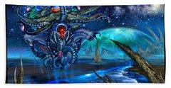 Evolutionary Space Beach Towel