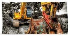 Excavator Beach Sheet