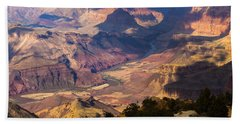 Expanse At Desert View Beach Towel