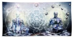 Meditation Art Beach Towels