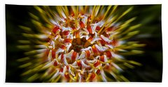 Explosion Beach Towel