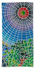 Beach Sheet featuring the digital art Eye Of God by Anthony Mwangi