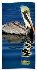 Eye Of Reflection Beach Towel by Karen Wiles