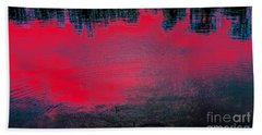 Create Reality Abstract Beach Towel