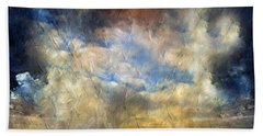 Eye Of The Storm  - Abstract Realism Beach Towel
