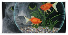 Eye To Eye Sq Beach Towel