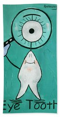 Eye Tooth  Beach Towel